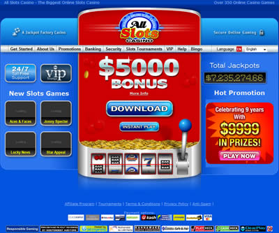 all slots casino claim bonus